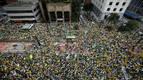 La oposición toma la calle en Brasil contra Rousseff y la corrupción