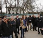 Vecinos de la Magdalena piden retirar obstáculos del cauce del Arga