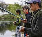Este lunes se ha retomado la temporada de pesca 2020 en Navarra