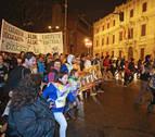 La Korrika regresó el sábado a Navarra por Bera y Lesaka