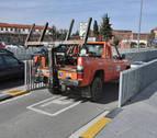 Prorrogado para 2018 el contrato del servicio de grúa en Pamplona