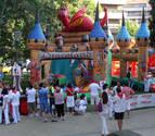 Los espacios infantiles han acogido a 140.000 personas estos Sanfermines