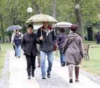 Alerta por lluvias este miércoles en Navarra