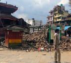 La herencia cultural de Katmandú, herida por el terremoto