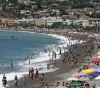 Playas con bandera azul, pero no tan verdes