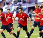 Dos goles de Miguel Flaño dan el empate a Osasuna en Valladolid