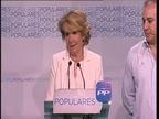 La victoria más amarga de Esperanza Aguirre en Madrid