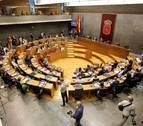 El Parlamento navarro debate este jueves la derogación de la ley de símbolos