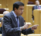Óscar López sustituye a Chivite como portavoz del PSOE en el Senado