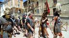 Mendigorría se viste con togas romanas