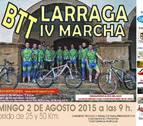 Este domingo se celebra la IV Marcha de BTT Villa de Larraga