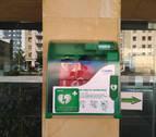 AFAPNA solicita un desfibrilador externo para los centros públicos de Navarra