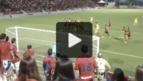 Así fue el gol de Olavide de falta directa en el 0-1