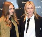 Cara Delevigne y Kate Moss revolucionan Milán