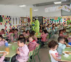 Escuelas infantiles e INTIA continúan con los menús sostenibles 'De aquí'