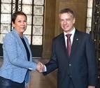 El Convenio Económico y la TDT centran la reunión de Barkos y Urkullu