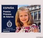 La Princesa Leonor, por primera vez en un sello postal