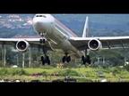 El aterrizaje de un avión Iberia en Costa Rica se hace viral