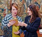 Bakartxo Tejeria y Ainhoa Aznárez defienden el Concierto y el Convenio