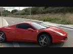 Neymar, a toda velocidad con su Ferrari