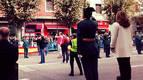 Desfile y medallas en el día de la Guardia Civil en Pamplona