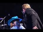 Penélope Cruz y Bardem, invitados de U2 en Barcelona