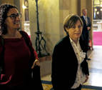 ERC propone a Carme Forcadell como presidenta del Parlamento catalán