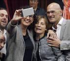 Forcadell, presidenta del Parlament con el voto de JxSí, CUP y SíQueEsPot