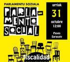 'Parlamento Social' celebrará un acto este sábado en Pamplona
