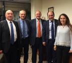 El Gobierno foral recibe a la Fundación Navarra para la Excelencia