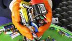 Los navarros reciclan 200 kilos de pilas en dos carreras populares