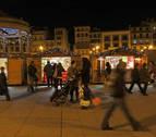 Estallido en la Plaza del Castillo de Pamplona por un cortocircuito