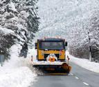 Movilizados 54 quitanieves la próxima madrugada ante la previsión de nieve