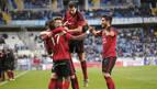 El Mirandés elimina al Málaga y el Eibar remonta a la Ponferradina