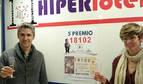 Seis décimos del sorteo de Navidad dejan en Navarra 64.000 euros