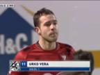 Así fueron los 17 goles de Urko Vera con el Mirandés
