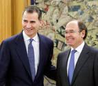 El Rey se reúne con García-Escudero tras recibir a López en Zarzuela