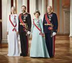 Los reyes de Noruega celebran los 25 años de su llegada al trono