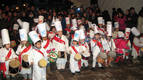 Tambores de fiesta en Lakuntza