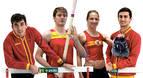 Sergio Fernández, Adrián Vallés, Estela Navascués y Javier Colomo, al Campeonato de Europa