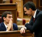 Rivera abre un diálogo con Sánchez, pero con la línea roja de Podemos