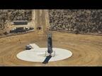 Blue Origin repite el logro de aterrizar un cohete espacial