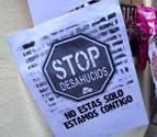 Los desahucios caen un 50% en el segundo trimestre del año en Navarra