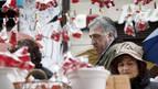 Pamplona celebra San Blas, sin Asiron en los actos religiosos