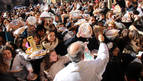 San Blas extiende su bendición en la Ribera de Estella