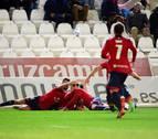Un agónico gol de Berenguer devuelve la ilusión a Osasuna