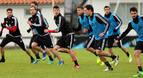 Osasuna regresa al trabajo con la ausencia de Mikel Merino