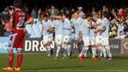 El Celta gana la batalla por Europa contra la Real con un gol de Aspas