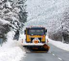 La cota de nieve bajará hasta los 700 metros este viernes en Navarra