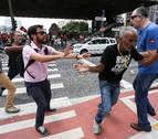 La Policía desaloja manifestantes en Sao Paulo y la tensión crece en Brasil